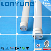High performance UL ETL DLC list 4ft to 8ft T8 LED Tube ballast compatible direct replace traditional fluorescent lamp