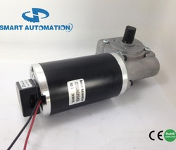 63WG.63ZYT dc worm gear motor with encoder assembled, optical or magnetic option