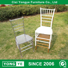 wholesale price clear monoblock resin chiavari chair