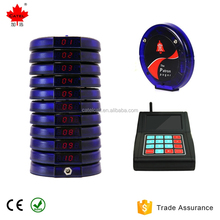 wireless paging system from China / restaurant coaster pagers