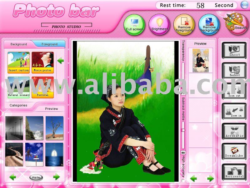 Photo Bar studio software
