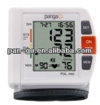 Voice blood pressure monitor watch wrist electric type