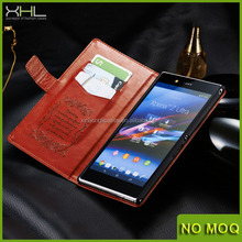 New product wallet leather case cover for Sony Xperia L39h ,case for sony z1 z2