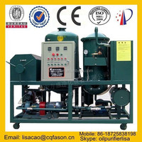 High efficiency filter-free technology frying oil filter system
