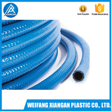 PVC and rubber fiber reinforced high pressure spray hose