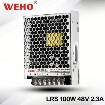 hot sale LRS-100-48 30mm SMPS 86-264v ac input to dc output 100w 48v switch mode power supply