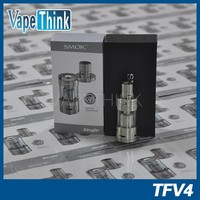 2015 hot selling SMOK TFV4 dripper tank top refill rebuildable atomizer