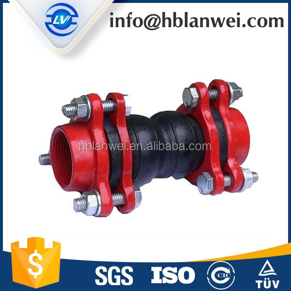Water Fitting Single Bellow Rubber Expansion Joint