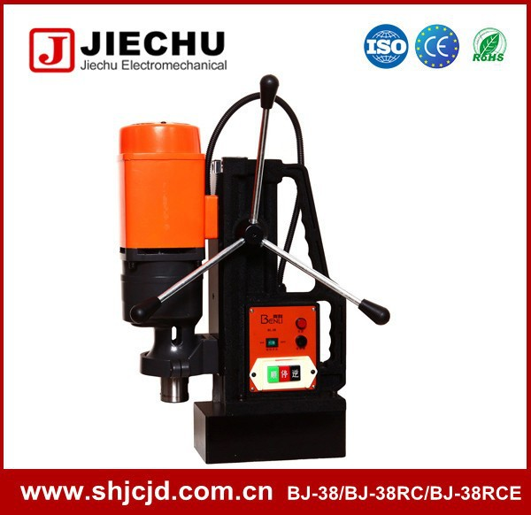 38mm BJ-38 speed regulation china magnetic core drill iron absorption drill