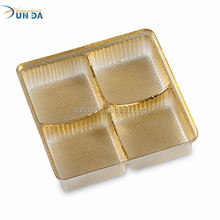 Wholesale Golden Plastic Thermoforming Chocolate Insert Tray