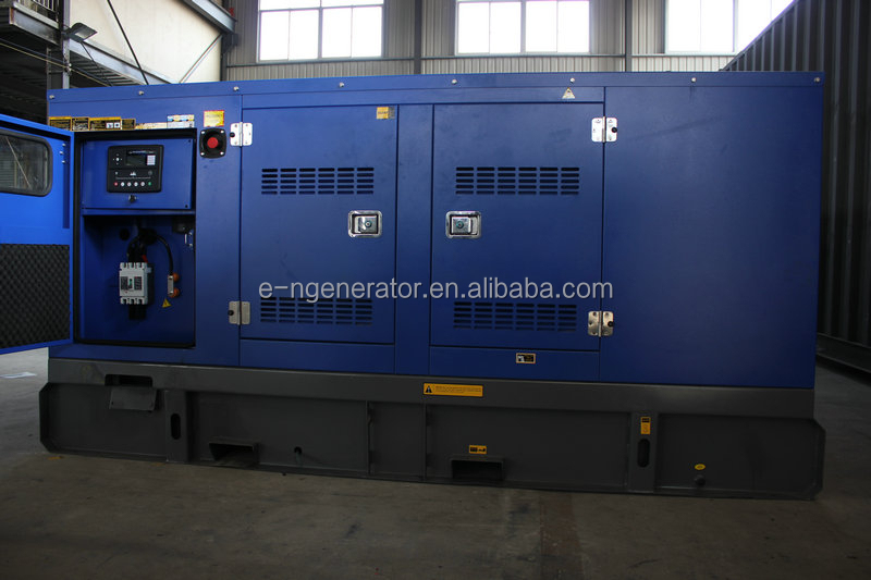 125kva self start silent disel generators 100kw powered by cummins engine