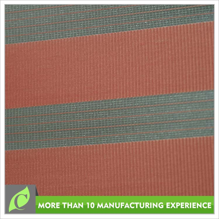 Home textile 2016 new arrival Sunscreen red 100 polyester blind fabric