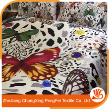 Elegant style full of modern flavor simple design polyester brushed fabric/bedsheet