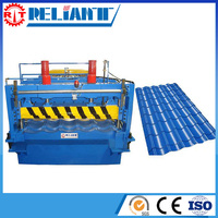 Energy Saving New Roll Forming Line For Step Tile Roof With High Efficiency