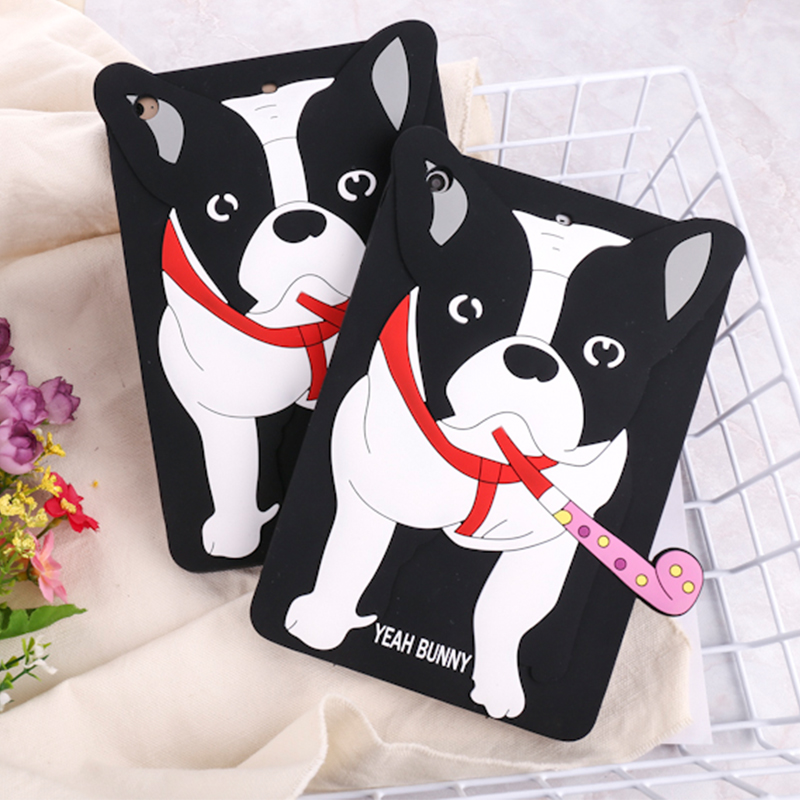 Black Silicone Bulldog UnBreak Tablet Covers for Ipad mini 1/2/3/4