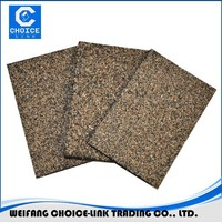 Colorful sand coated polyester reinforced bitumen waterproof roofing membrane