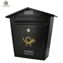 Steel postbox mailboxes with powder coating