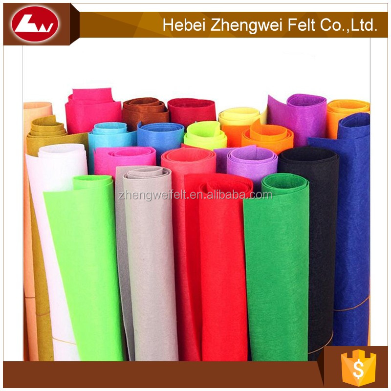top quality customized polyester felt from China supplier