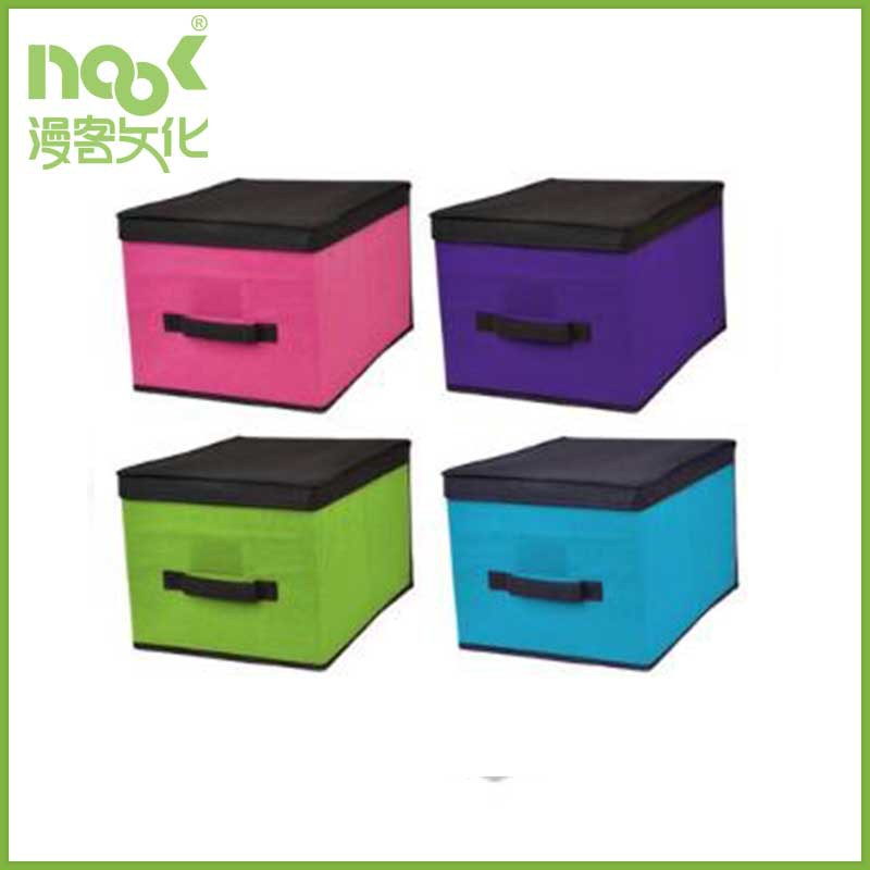 Factory Wholesale New arrival foldable pp non woven storage box