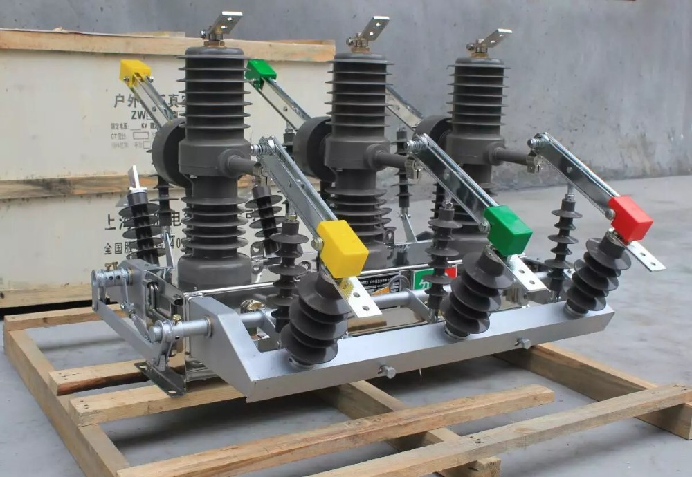 ZW32-24 2000A 24KV Outdoor High Voltage Vacuum Circuit Breaker