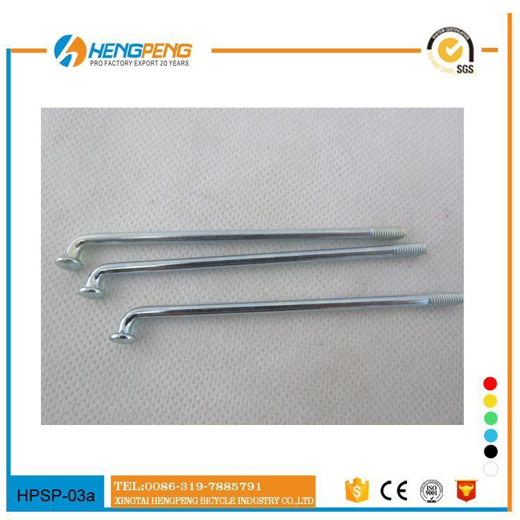 2016 Factory Bicycle parts galvanized spoke for sale