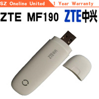 zte mf190 3g usb modem brand new with packing box usb modem
