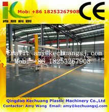 PET, PS, ABS, PMMA, PC, PE, PP, PVC sheet board making machine/plastic sheet extrusion line