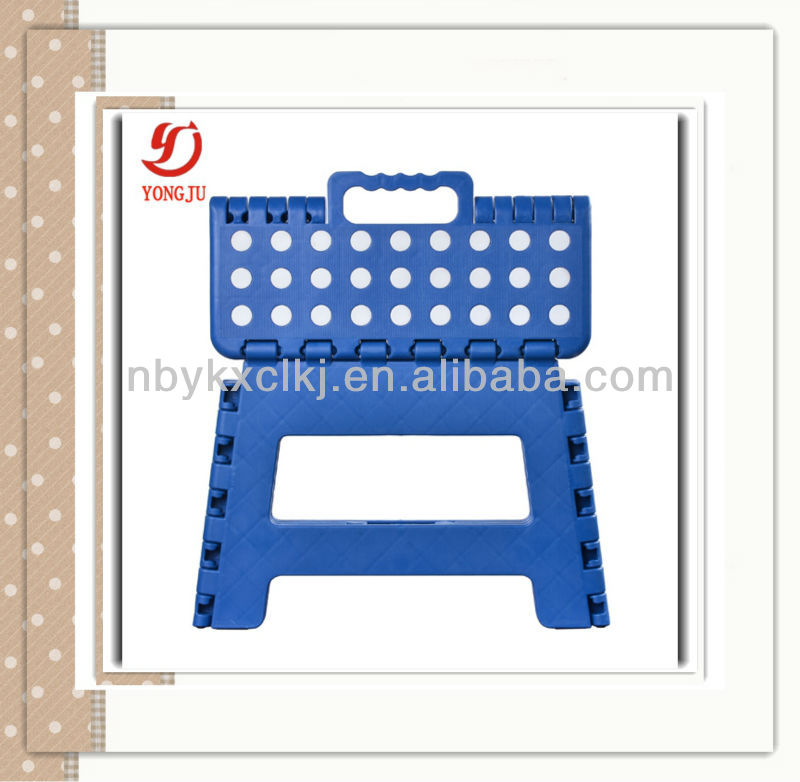 2016 hot sale Folding plastic hanging stool chair
