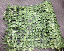 free samples Artificial landscape ivy leaves foliage garden fence,artificial boxwood panel leaf fence