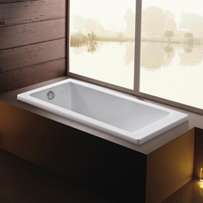 1700*700*400mm Soaking Drop-in Bathtub,Built-in Embedded Acrylic ...