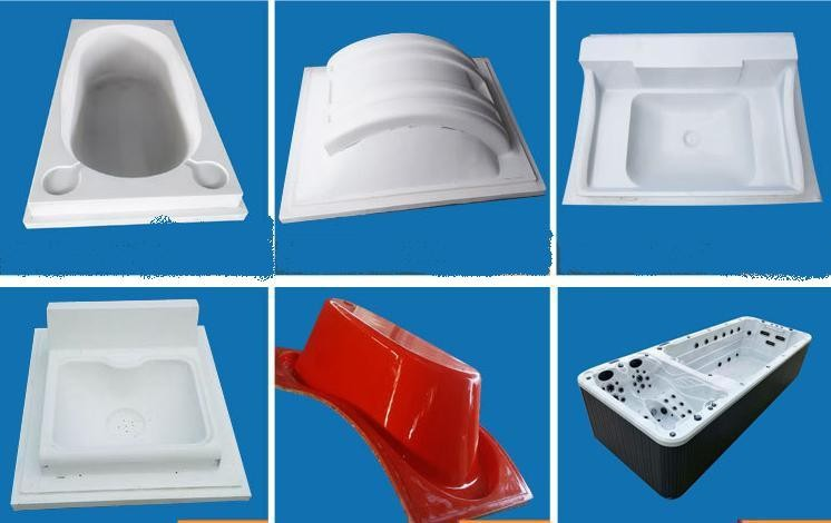 Vacuum forming mould Acrylic ABS vacuum forming plastic parts