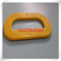 Customized Shopping Bags Plastic Carrying Handle