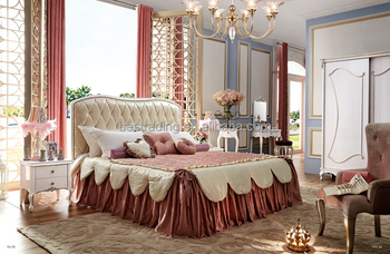 Classic Design Wooden royal furniture bedroom sets italian bedroom ...