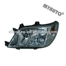 HEAD LAMP USED FOR MERCEDES SPRINTER 1995-2003 BLACK 9018202761