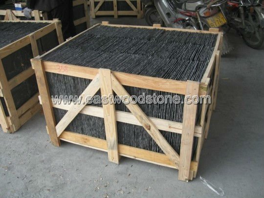 Different Style rectangle Shape natural roofing slate