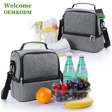 KID waterproof large soft polyester aluminium foil lunch ice cooler bag