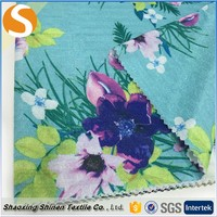 2016New Popular polyester paper printing jacquard knitting fabric