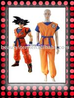 Custom made Hot sale Dragon Ball Costume for adults