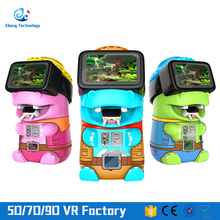 The latest VR technology motion simulator kids games free online in a virtual panorama space