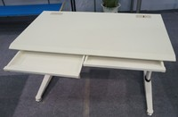 New Honeycomb wood top mobile office desk/office table with hidden drawer