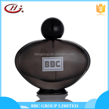 BBC Black Series-BL003 Fashion male design glass bottles spray pure black perfume price