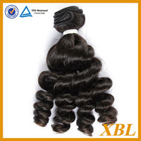 "Free shipping virgin Brazilian remy hair grade 7a french curly online shopping 3 bundles/lot 14"" 16"" 18"""