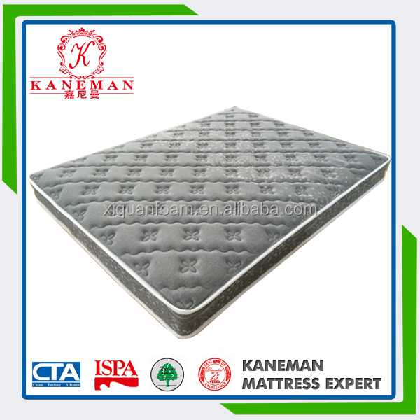 Alibaba best queen vacuum packed spring mattress