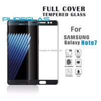 full cover anti cratch screen protector for Samsung galaxy Note 7 latest release tempered glass screen protector