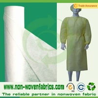 raw material 100% Virgin pp non woven fabric for surgical clothing