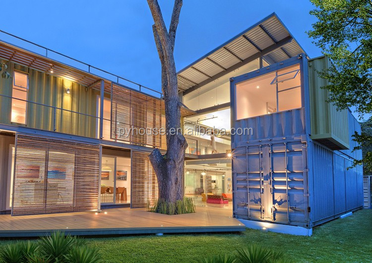 Hot new product for prefabricated houses modular luxury for Villa container