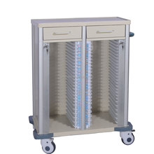 ABS x-ray film trolley medical carts files record trolley