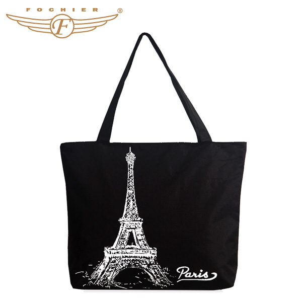 Fashion Tote Bag Design Eco-Friendly Shoulder Canvas Bag