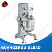 CE Approved stainless steel food powder stand mixer with rotating bowl for sale