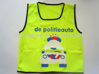 Kids Safety Reflective Hi Viz Walking Bike / Cycling Vest